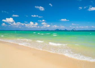 On a Beach White Sand