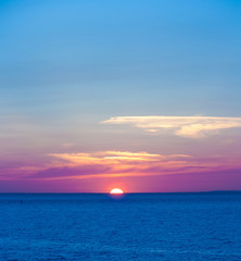 Summer Dawn Sun