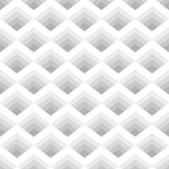 Seamless geometric pattern of rhombuses gray