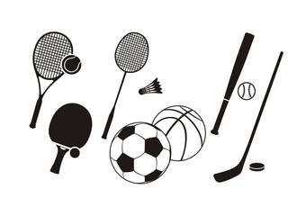 Hockey stick racket tennis baseball badminton