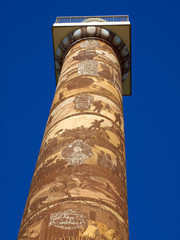 The Astoria Column in Astoria Oregon USA