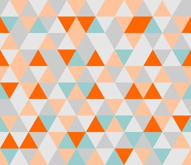Colorful tile triangle vector background