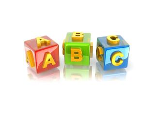 3d text ABC