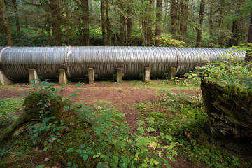 Large Pipeline Industrial Hydroelectric Industry Construction