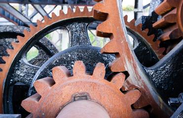 Original Gear Mechanism Operating Murray Morgan Drawbridge