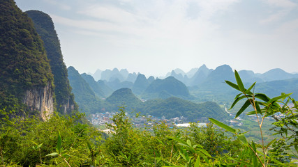 Karstlandschaft in Guilin