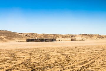 Sahara desert near Ong Jemel in Tozeur,Tunisia.