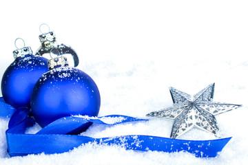 Bilder und videos suchen weihnachtschmuck - Weihnachtsdeko blau ...