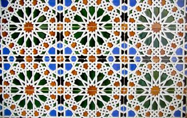 Detail of mosaic floor