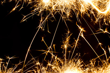 Abstract sparkler motion texture.
