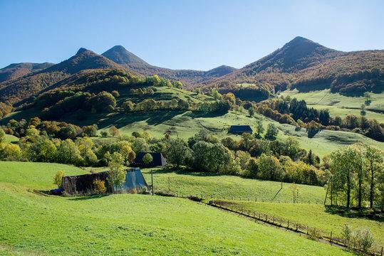 Depuis le Puy Mary dans le Cantal