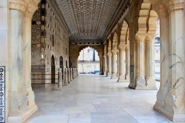 Arched Pillar Passageway