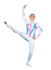 young male ballet dancer