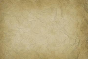 old wrinkled paper texture or background