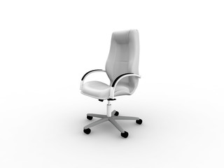 grayscale office easy chair