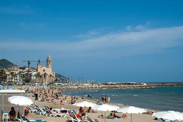 Sitges beach 1