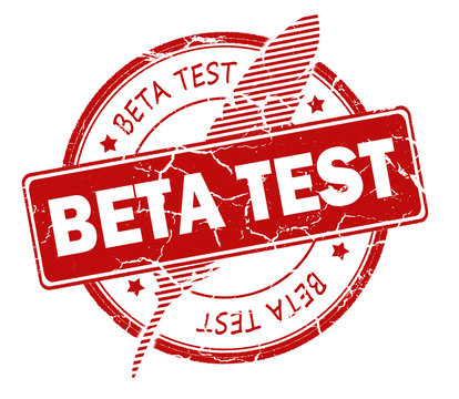 beta test stamp