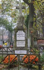 Cemetery sculpture
