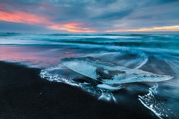 Iceberg sur la plage