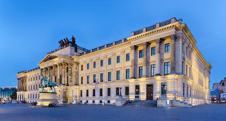 Schloss Braunschweig beleuchtet