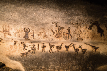 Beautiful cave drawings