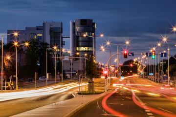 Bulgarska street in Poznan Fototapete