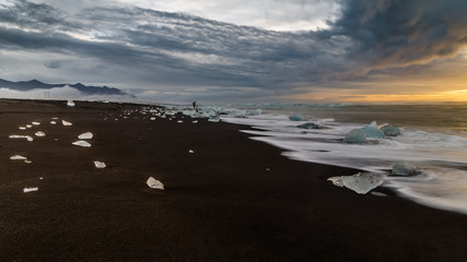 Iceberg, entre ciel et mer