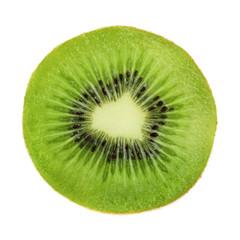 Kiwi slice isolated
