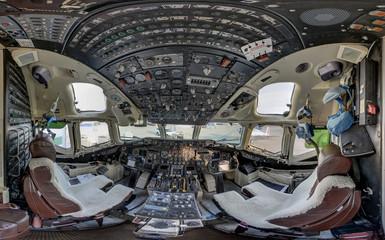 McDonnell Douglas MD-87 aircraft cockpit