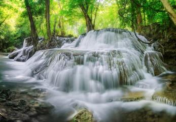 Level 7 of Huaimaekamin waterfall