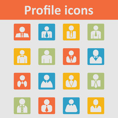 User icons