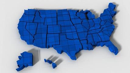 USA map texture