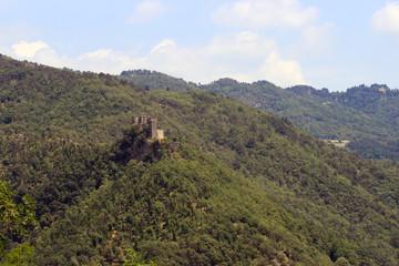 Ruins of Cerbaia castle, Tuscany, Italy