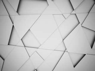 Silver triangle abstract background concept