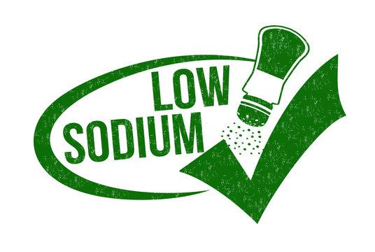 Low sodium stamp