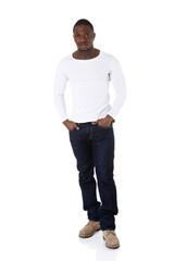 Black confident men