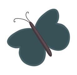Flying Butterfly Shape