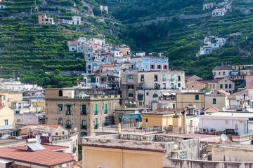 Minori at Amalfi coast, Italy