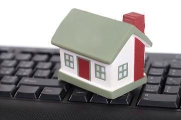 House and keyboard