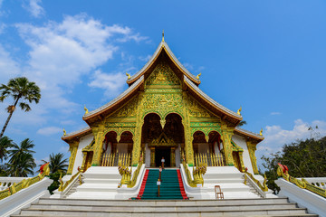 The royal temple of Luang-Prabang, Laos