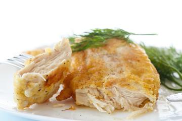 grilled chicken fillet