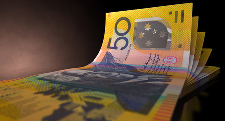 Australian Dollar Bank Notes Spread