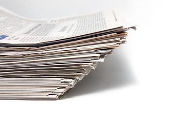 Haufen Zeitungen
