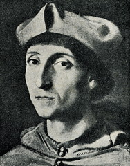 Portrait of a Cardinal (Raphael, ca. 1510)