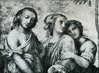Thalia, Clio and Euterpe (Raphael, 1511)
