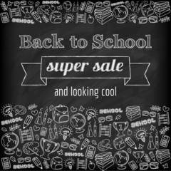 Doodle back to school super sale poster