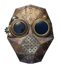 Wall Mural - Steampunk glasses