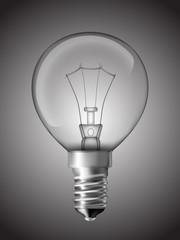 Light bulb for bedside lamp