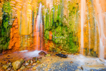 Cascade of Colors, Caldera de Taburiente, la Palma (Spain)