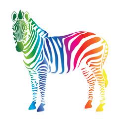 Zebra color palette